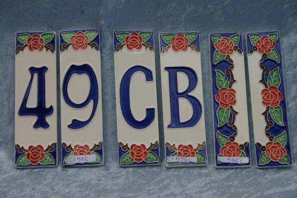 Numeri Civici In Ceramica.Numeri Civici Ceramica